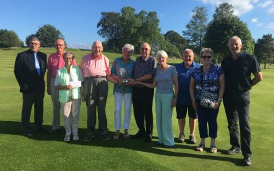 Senior Mixed Greensomes